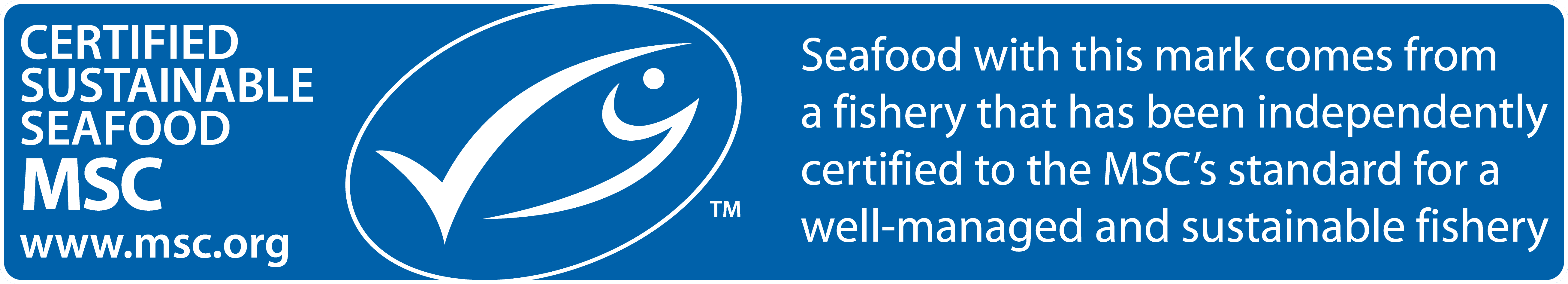 MSC Certification ecolabel