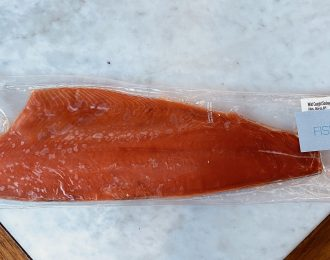 Alaskan Salmon Whole Side