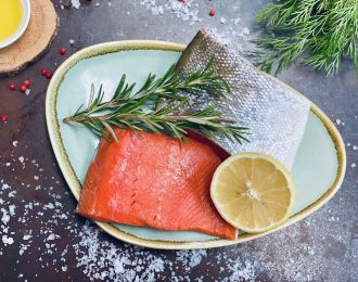 Wild Caught Canadian Salmon Fillets