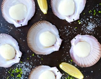 QLD Half Shell Scallops (6)