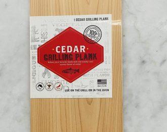 Large Cedar Grilling Plank